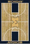 Milliken College Home Court (NCAA) Michigan 01160 Court Rectangle (4000018478) 7'8