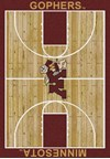 Milliken College Home Court (NCAA) Minnesota 01185 Court Rectangle (4000018311) 3'10