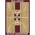 Milliken College Home Court (NCAA) Mississippi State 01188 Court Rectangle (4000018483) 7