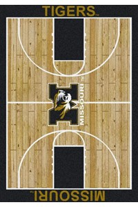 Milliken College Home Court (NCAA) Missouri 01200 Court Rectangle (4000018484) 7'8