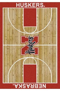 Milliken College Home Court (NCAA) Nebraska 01230 Court Rectangle (4000018401) 5'4