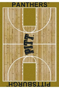 Milliken College Home Court (NCAA) Pittsburgh 01330 Court Rectangle (4000018326) 3'10