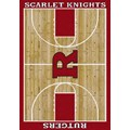 Milliken College Home Court (NCAA) Rutgers 01347 Court Rectangle (4000018413) 5