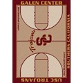 Milliken College Home Court (NCAA) Southern California 01370 Court Rectangle (4000018331) 3