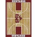 Milliken College Home Court (NCAA) Southern Methodist 01390 Court Rectangle (4000018335) 3