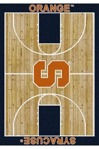 Milliken College Home Court (NCAA) Syracuse 01395 Court Rectangle (4000018337) 3'10