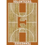 "Milliken College Home Court (NCAA) Tennessee 01400 Court Rectangle (4000018424) 5'4"" x 7'8"" Area Rug"