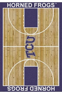 Milliken College Home Court (NCAA) Texas Christian 01430 Court Rectangle (4000018342) 3'10