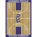 Milliken College Home Court (NCAA) Texas Christian 01430 Court Rectangle (4000018512) 7