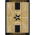Milliken College Home Court (NCAA) Vanderbilt 01453 Court Rectangle (4000018347) 3