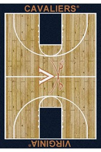Milliken College Home Court (NCAA) Virginia 01455 Court Rectangle (4000018433) 5'4