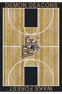 Milliken College Home Court (NCAA) Wake Forest 01462 Court Rectangle (4000018521) 7'8