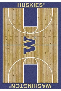 Milliken College Home Court (NCAA) Washington 01464 Court Rectangle (4000018352) 3'10