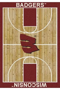 Milliken College Home Court (NCAA) Wisconsin 01490 Court Rectangle (4000018440) 5'4