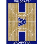 "Milliken College Home Court (NCAA-CRT) Villanova 01448 Court Rectangle (4000096126) 10'9"" x 13'2"" Area Rug"