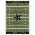 Milliken College Home Field (NCAA) Vanderbilt 01453 Home Field Rectangle (4000096157) 7