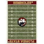 "Milliken College Home Field (NCAA-FLD) Florida State 01514 Home Field Rectangle (4000054678) 3'10"" x 5'4"" Area Rug"