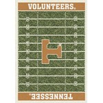 "Milliken College Home Field (NCAA-FLD) Tennessee 01400 Home Field Rectangle (4000054661) 3'10"" x 5'4"" Area Rug"