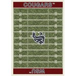 "Milliken College Home Field (NCAA-FLD) Washington State 01466 Home Field Rectangle (4000054672) 3'10"" x 5'4"" Area Rug"