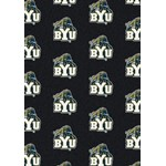 "Milliken College Repeating (NCAA) Brigham Young 01048 Repeat Rectangle (4000018973) 10'9"" x 13'2"" Area Rug"