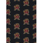 "Milliken College Repeating (NCAA) Maryland 01156 Repeat Rectangle (4000018777) 3'10"" x 5'4"" Area Rug"