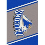 "Milliken College Team Spirit (NCAA) Air Force 68870 Spirit Rectangle (4000019306) 7'8"" x 10'9"" Area Rug"