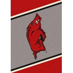 "Milliken College Team Spirit (NCAA) Arkansas 68884 Spirit Rectangle (4000019190) 5'4"" x 7'8"" Area Rug"
