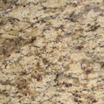 "MS International Granite: Amber Yellow 12"" x 12"" Granite Tile TAMBYEL1212"