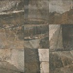 "Daltile Porada: Rich Brown 13"" x 13"" Glazed Porcelain Tile PR32-13131P6"
