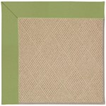 Capel Rugs Creative Concepts Cane Wicker - Canvas Citron (213) Octagon 4' x 4' Area Rug
