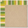 Capel Rugs Creative Concepts Cane Wicker - Kalani Fresco (239) Octagon 4