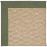 Capel Rugs Creative Concepts Cane Wicker - Canvas Fern (274) Octagon 4' x 4' Area Rug