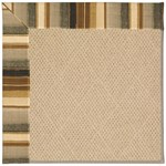Capel Rugs Creative Concepts Cane Wicker - Kalani Coal (330) Octagon 4' x 4' Area Rug
