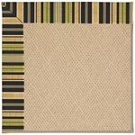 Capel Rugs Creative Concepts Cane Wicker - Vera Cruz Coal (350) Octagon 4' x 4' Area Rug