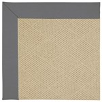 Capel Rugs Creative Concepts Cane Wicker - Canvas Charcoal (355) Octagon 4' x 4' Area Rug