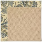 Capel Rugs Creative Concepts Cane Wicker - Cayo Vista Ocean (425) Octagon 4' x 4' Area Rug