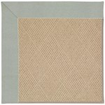 Capel Rugs Creative Concepts Cane Wicker - Canvas Spa Blue (427) Octagon 4' x 4' Area Rug