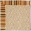 Capel Rugs Creative Concepts Cane Wicker - Vera Cruz Samba (735) Octagon 4