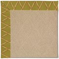 Capel Rugs Creative Concepts Cane Wicker - Bamboo Tea Leaf (236) Octagon 6