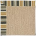Capel Rugs Creative Concepts Cane Wicker - Long Hill Ebony (340) Octagon 6