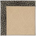 Capel Rugs Creative Concepts Cane Wicker - Wild Thing Onyx (396) Octagon 6