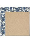 Capel Rugs Creative Concepts Cane Wicker - Batik Indigo (415) Octagon 6' x 6' Area Rug