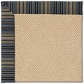 Capel Rugs Creative Concepts Cane Wicker - Vera Cruz Ocean (445) Octagon 6