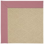 Capel Rugs Creative Concepts Cane Wicker - Canvas Coral (505) Octagon 6' x 6' Area Rug