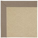 Capel Rugs Creative Concepts Cane Wicker - Shadow Wren (743) Octagon 6' x 6' Area Rug
