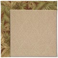 Capel Rugs Creative Concepts Cane Wicker - Bahamian Breeze Cinnamon (875) Octagon 6