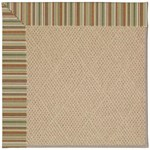 Capel Rugs Creative Concepts Cane Wicker - Dorsett Autumn (714) Octagon 8' x 8' Area Rug