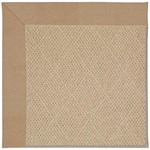 Capel Rugs Creative Concepts Cane Wicker - Canvas Camel (727) Octagon 8' x 8' Area Rug