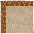 Capel Rugs Creative Concepts Cane Wicker - Bamboo Cinnamon (856) Octagon 8