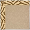 Capel Rugs Creative Concepts Cane Wicker - Couture King Chestnut (756) Octagon 10